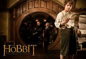 Обои Hobbit, Хоббит, неожиданное путешествие