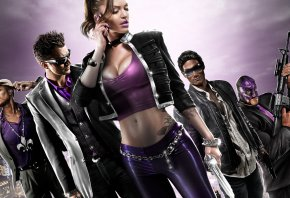 Saints Row, The Third, Johny Gat, shaundi, святые