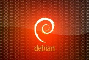 Debian, Orange, linux