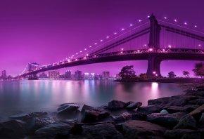 река, город, Мост