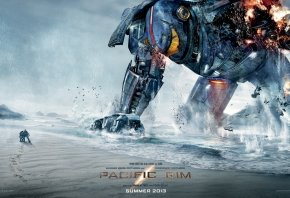 Обои Тихоокеанский рубеж, Pacific Rim, робот, фантастика