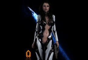 ������, ������, ������, fanart, miranda lawson, Mass effect