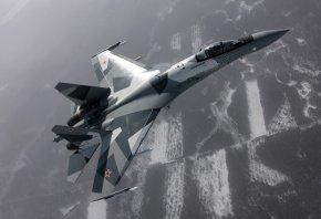 су-35, истребитель, самолет
