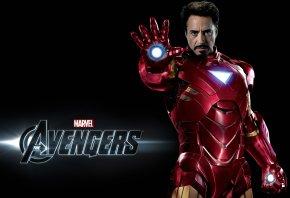 Обои железный человек, мстители, marvel, Avemgers