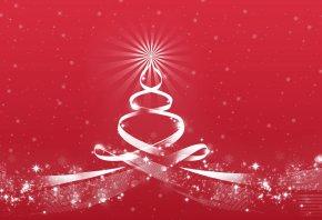 Новый Год, Рождество, ель