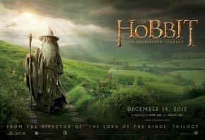 Hobbit, Gandalf, Хоббит, Гэндальф