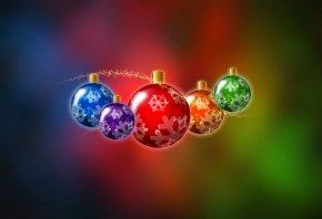 новый год, елочные игрушки, праздник, хлопушки