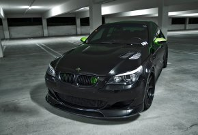 bmw, m5, e60, black, parking, ���, ������, �����, ������, ��������, ����, ����