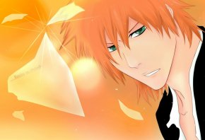 ichigo, soul reaper, Orange