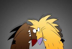 The Angry Beavers, бобры, Норберт, Деггет