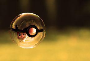 покемон, шар, корабль, стеклянный