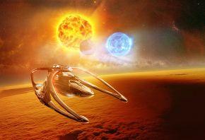 Andromeda, Ascendant, Space, Sun