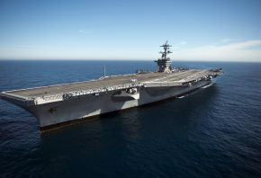 aircraft carrier, USS Carl Vinson, �������, ������