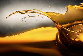 Масло, Oil, жидкость, всплеск