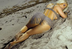 Nicole Austin, Coco T, попка, песок