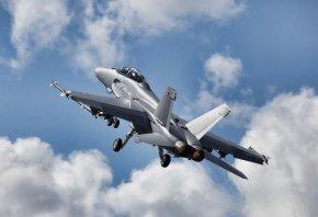 Fa-18, super hornet, небо, полет, скорость