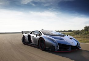Lamborghini, Veneno, Car, Суперкар