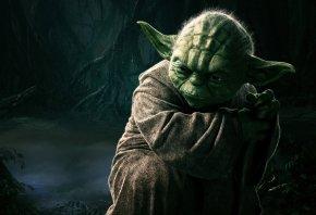 Обои Мастер Ёда, Звездные Войны, Master Yoda, Star Wars