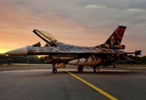 falcon, Истребитель, f-16, рисунок