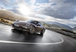 �����, ����������, Porsche, 911, Carrera, 4S, Coupe, Brown