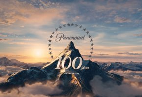 Обои Paramount, 100 лет, movie, pictures, парамаунт, гора