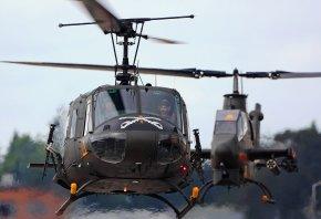 Вертолёты, винт, авиация, пилот