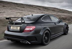 Mercedes-benz, амг, amg, coupe, мерседес, черный