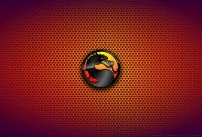 Обои Mortal Kombat, Мортал Комбат, знак, фон