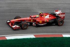 Обои Ferrari, F138, формула 1, race car, феррари