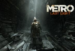 Metro, Last Light, Луч надежды, Солдат, Оружие, Противогаз, Лучи Света