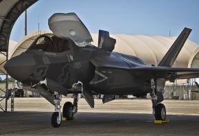 Обои F-35, Истребителей-бомбардировщик, ВВС, США