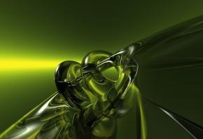 абстракция, 3d, art, прозрачность, фон