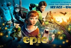 Epic, Эпик, мультфильм, люди, персонажи, дисней