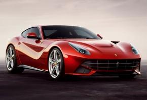 Обои ferrari, f12, феррари, суперкар, красный, передок, красивая машина