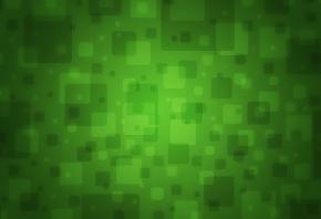 зеленый, квадраты, фон, текстура, цвет