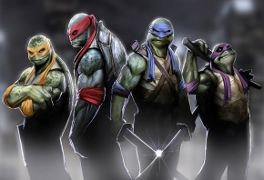 turtles, donatello, ���������, raphael, ������, leonardo, ��������, michelangelo, �����������
