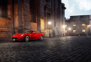 �����, ������� ����������, Ferrari california, ������, �����