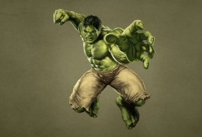 Мстители, The Avengers, халк, hulk, монстр, зеленый, кулак, комикс