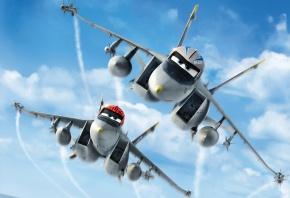 Обои Самолеты, Planes, комедия, приключения, Тачки