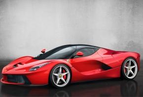 Обои ferrari, red, феррари, красная, спорт машина