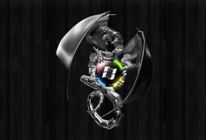 Обои asus, logo, republic of gamers
