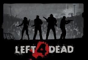 Left 4 dead, люди, зомби