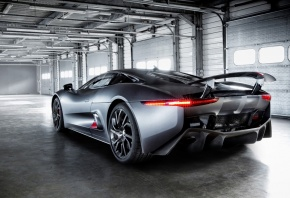 Jaguar, cx75, prototype, super, ��������, �����