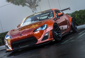 ���� Scion, fr-s, orange, tuning, front, �����, ��-�, ������, ���������
