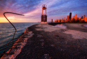 USA, illinois, Chicago, ���, ��������, ������, �����