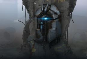 Half-Life 2, ломик, устройсво, разруха  Sergey Lesiuk, Сергей Лесюк, арт