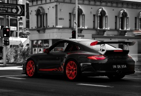 Porsche, 997, GT3, RS, ����, �����, �����, ����, �������, ������, Marcus Curran, Photography