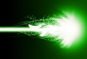 Обои фон, зеленый, огонь, вспышка, искры