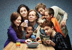 семья, Shameless, бесстыжие, стол, Галагеры