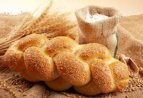 хлеб, кунжут, мука, зерна, пшеница, выпечка
